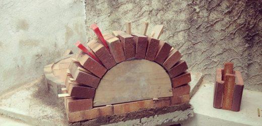 Comment faire un four à pizza en brique réfractaire ?