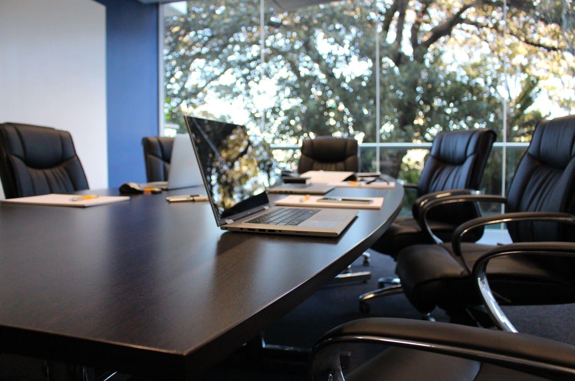 Une salle de réunion d'entreprise
