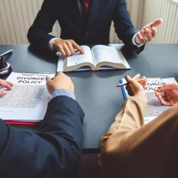 La procédure de divorce sur demande acceptée