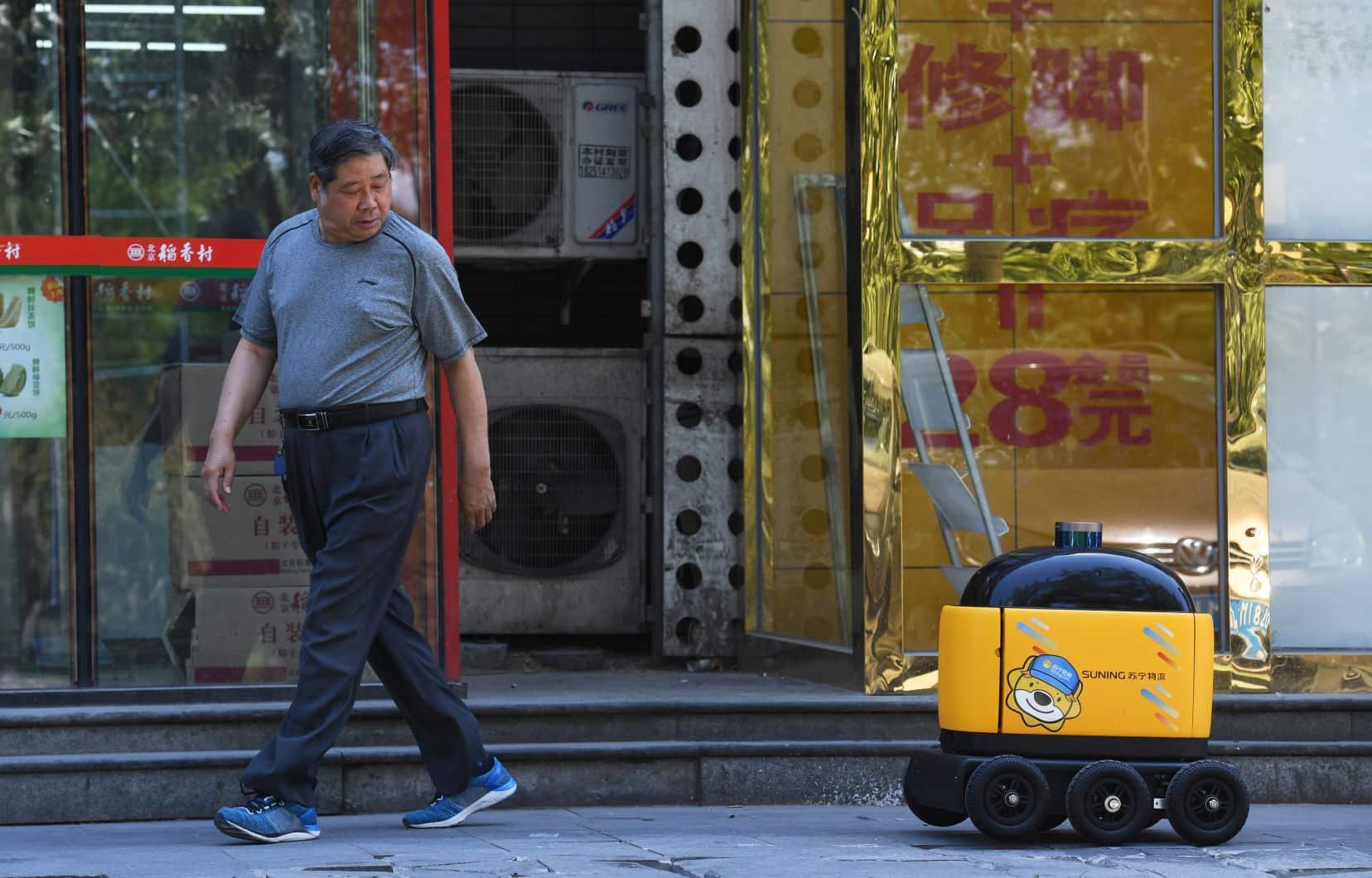 Domino's va commencer la livraison avec des robots à Houston