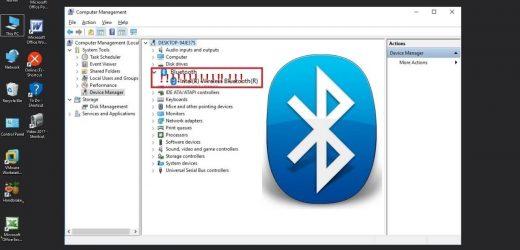 Comment activer le bluetooth sur windows10?