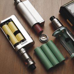 Lors du changement de batterie e cigarette?